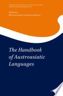 The Handbook of Austroasiatic Languages  2 vols