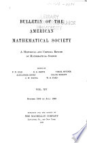 Bulletin of the American Mathematical Society Book PDF