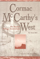 Cormac Mccarthy S West book
