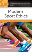 Modern Sport Ethics  A Reference Handbook  2nd Edition