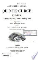 Cornelius Nepos, Quinte-Curce, Justin, Valère Maxime, Julius Obsequens