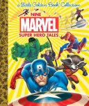 download ebook nine marvel super hero tales (marvel) pdf epub