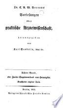 Handbuch der praktischen Arzneiwißenschaft oder der speciellen Pathologie und Therapie. Hrsg. von Karl Sunderlin. - Berlin, Enslin 1827-1829