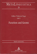 Function and Genres
