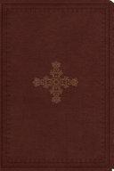 download ebook esv study bible, personal size (trutone, deep brown, ornate cross design) pdf epub