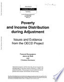 Poverty and Income Distribution During Adjustment