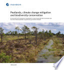 Peatlands Climate Change Mitigation And Biodiversity Conservation book