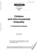 Children and Intra - Household Inequality