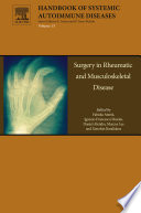 Surgery In Rheumatic And Musculoskeletal Disease book