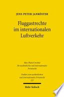 Fluggastrechte im internationalen Luftverkehr