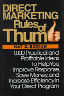 Direct Marketing Rules of Thumb