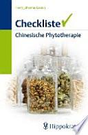 Checkliste chinesische Phytotherapie