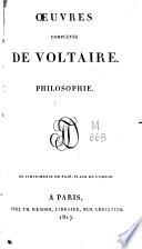 Oeuvres compl  tes de Voltaire  vol   VIII  1006 p    VIII  1143  8 p    1062  VIII  4 p