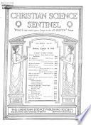Christian Science Sentinel Book PDF