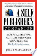 A Self-Publisher's Companion