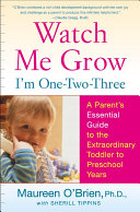 Book Watch Me Grow  I m One Two Three