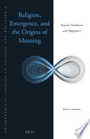 Religion Emergence And The Origins Of Meaning