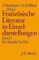 Franz  sische Literatur in Einzeldarstellungen