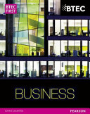 Btec Firsts in Business  Student Book