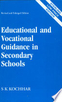 Educational And Vocational Guidance In Secondary Schools