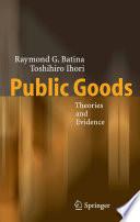 Ebook Public Goods Epub Raymond G. Batina,Toshihiro Ihori Apps Read Mobile