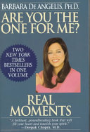 Are You the One for Me    Real Moments Book PDF