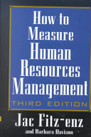 download ebook how to measure human resource management pdf epub