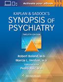 Synopsis Of Psychiatry 12