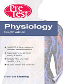 Physiology PreTestTM Self Assessment and Review  Twelfth Edition