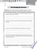 Number the Stars Close Reading and Text Dependent Questions
