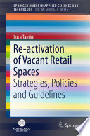Re activation of Vacant Retail Spaces