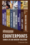 Counterpoints Church Life and Ministry Collection  7 Volume Set