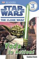 Star Wars Clone Wars Yoda in Action