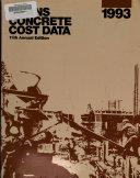 Means Concrete Cost Data