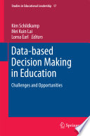 Data based Decision Making in Education