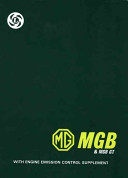 MG MGB   MGB GT Workshop Manual