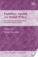 Families, Ageing and Social Policy