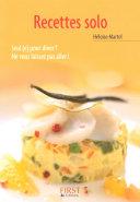 Petit livre de   Les recettes solo