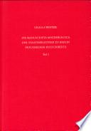 Die Manuscripta Magdeburgica der Staatsbibliothek zu Berlin Preussischer Kulturbesitz: Ms. Magdeb. 1-75