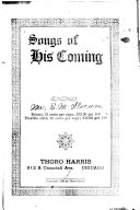 Songs of His Coming