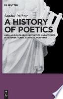A History of Poetics