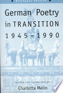 German Poetry in Transition  1945 1990