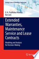 Extended Warranties Maintenance Service And Lease Contracts