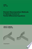 Domain Decomposition Methods in Optimal Control of Partial Differential Equations