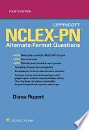 Lippincott NCLEX PN Alternate Format Questions