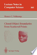 Closed Object Boundaries from Scattered Points