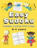 Easy Sudoku Puzzle Books For Kids