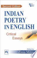 INDIAN POETRY IN ENGLISH   CRITICAL ESSAYS
