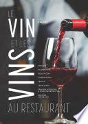 illustration Le vin et les vins au restaurant