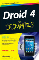 Droid 4 For Dummies